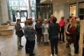 Rondleiding van Tilburg, mode en sport in Nistelrode, 06 april 2016.